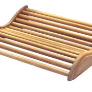 Poggiatesta in legno