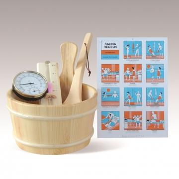 Set accessori sauna
